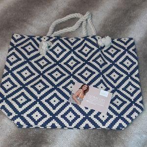 NWT Summer & Rose beach bag